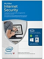 McAfee Security MIS16ZDL9RAA Internet Security 2016 Software Unlimited Devices Box Pack (1 Year)
