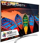 LG 86UH9500 86 inch 4K Ultra HDR LED Smart TV 3840 x 2160 TruMotion 240 Hz 5.2 Channel Speaker System webOS 3.0 Passive 3D Wi Fi HDMI
