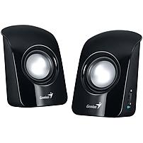 Genius SP U115 2.0 Speaker System 1.5 W RMS Glossy Black 200 Hz 18 kHz USB 31731006100