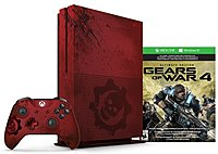 Microsoft 23N 00001 Xbox One S 2TB Console Gears of War 4 Limited Edition Bundle