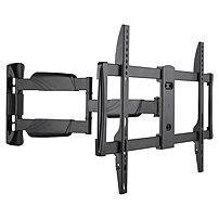 Ergotech Wall Mount for TV - 70' Screen Support - 77 lb Load Capacity - Black