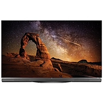 "LG 65"" Class (64.5"" Diag.) OLED 2160p Smart 3D 4K Ultra HD TV with High Dynamic Range Black OLED65E6P"