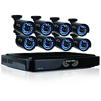 Night Owl 16 Channel Smart HD Video Security System with 2 TB HDD and 8 x 720p HD Cameras Digital Video Recorder Camera 2 TB Hard Drive 15 Fps 720 Composite Video In Composite Video Out 4 Audio In 1 A