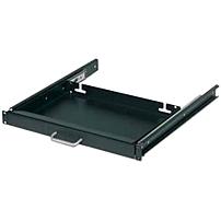 Schneider Electric 17' Keyboard Drawer Black - 17.4' Width x 12' Depth x 1.7' Height - Black