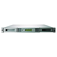 HP 1/8 G2 LTO-4 Ultrium 1760 SCSI Autoloader - 1 x Drive/8 x Slot - 1 Mail Slots - LTO-4 - 6.40 TB (Native) / 12.80 TB (Compressed) - 81.92 MB/s (Native) / 163.84 MB/s (Compressed) - SCSI - Encryption