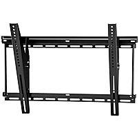 Ergotron Neo Flex 60 612 Wall Mount for Flat Panel Monitor 37 quot; to 63 quot; Screen Support 175 lb Load Capacity Black