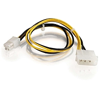 C2G 12in ATX Power Supply to Pentium 4 Power Adapter Cable 1ft 27314