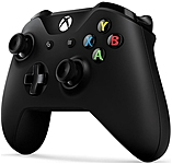 Microsoft Xbox One Wireless Controller Wireless USB Xbox One 18 ft Operating Range Force Feedback Black 6CL 00001