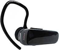Jabra Mini Earset - Mono - Black - Wireless - Bluetooth - 98 ft - Over-the-ear - Monaural - Outer-ear - Yes