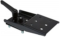 HAVIS C-HDM-302 Heavy Duty Fixed 4-inch Top Offset Bracket - Black