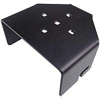 Havis Mounting Adapter for Keyboard, Flat Panel Display - Steel - Black