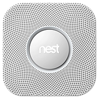 Nest Protect - Photoelectric - Wall Mount, Ceiling Mount - White