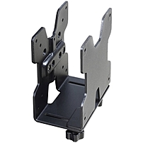Ergotron CPU Mount for Thin Client Flat Panel Display 6 lb Load Capacity Steel Black 80 107 200