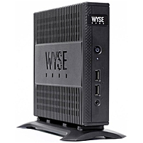 Wyse D90D7 Thin Client AMD G Series T48E Dual core 2 Core 1.40 GHz 4 GB RAM DDR3 SDRAM 16 GB Flash AMD Radeon HD 6250 Gigabit Ethernet Windows Embedded Standard 7 DisplayPort DVI Network RJ 45 4 Total