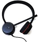 Jabra Evolve 20 Microsoft Lync Stereo Stereo USB Mini phone Wired Over the head Binaural Supra aural Noise Cancelling Microphone 4999 823 109