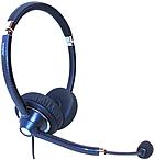 Jabra GSA7599 829 409 UC Voice 750 Duo Dark Headset