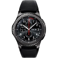 Samsung Gear S3 frontier Smart Watch - Wrist - Accelerometer, Barometer, Gyro Sensor, Heart Rate Monitor, Ambient Light Sensor - Alarm, Text Messaging, Email - Distance Traveled, Heart Rate, Sleep Qua