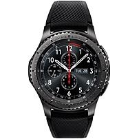 Samsung Gear S3 frontier Smart Watch - Wrist - Accelerometer, Barometer, Gyro Sensor, Heart Rate Monitor, Ambient Light Sensor - Alarm, Text Messaging, Email - Distance Traveled, Heart Rate, Sleep Qua
