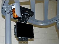 Havis PKG-FLM-101 Universal Overhead Forklift Mount System - Black