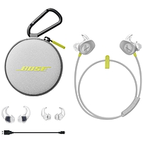 Bose SoundSport Wireless Headphones Stereo Citron Wireless Earbud Behind the neck Binaural In ear Yes 761529 0030