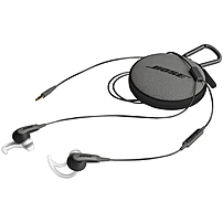 Bose SoundSport Wireless Headphones Stereo Black Wireless Bluetooth Earbud Binaural In ear 761529 0010
