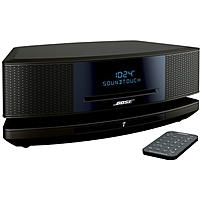 Bose Wave SoundTouch Music System IV CD R CD DA MP3 WMA AAC Apple Lossless Playback 1 Disc s Espresso Black 738031 1710