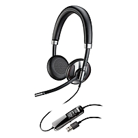 Plantronics Blackwire 725 Corded USB Headset With Active Noise Canceling Stereo USB Wired 20 Hz 20 kHz Over the head Binaural Supra aural 202580 01