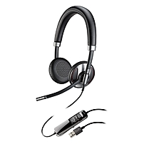 Plantronics Blackwire 725 M USB Headset with Active Noise Canceling Certified for Skype for Business and Optimized for Microsoft Lync Stereo USB Wired 20 Hz 20 kHz Over the head Binaural Supra aural 2