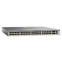 Cisco Catalyst 4948E-F Ethernet Switch - 48 x Gigabit Ethernet Network, 4 x 10 Gigabit Ethernet Expansion Slot - Manageable - 3 Layer Supported - 1U High - Rack-mountable