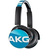 Click here for AKG Y50TEL Headset - Stereo - Teal - Mini-phone -... prices
