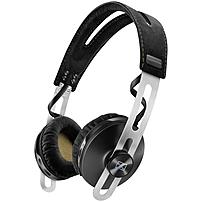Sennheiser Momentum Wireless Headphones Stereo Black Mini phone Wired Wireless Bluetooth 28 Ohm 16 Hz 22 kHz Over the head Binaural Circumaural 4.59 ft Cable 506250