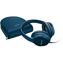 Bose SoundTrue Around ear Headphones II Apple Devices Stereo Navy Blue Wired Over the head Binaural Circumaural 741648 0080