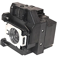eReplacements ELPLP67 V13H010L67 Replacement Lamp for Epson Projector Lamp 2000 Hour ELPLP67 ER