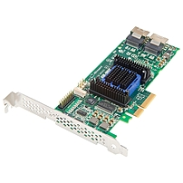 Microsemi Adaptec RAID 6805E Single 6Gb s SAS PCI Express 2.0 x4 Plug in Card RAID Supported 0 1 10 1E JBOD RAID Level 8 Total SAS Port s 8 SAS Port s Internal 128 MB 2270900 R