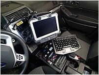 HAVIS C-DMM-123 Monitor Mount For 2013-2017 Ford Interceptor Utility - Black