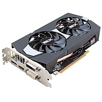 Sapphire Radeon R7 265 Graphic Card 900 MHz Core 2 GB GDDR5 PCI Express 3.0 x16 Dual Slot Space Required 5600 MHz Memory Clock 256 bit Bus Width 4096 x 2160 CrossFireX Fan Cooler DirectX 11.2 DirectCo