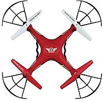 Gpx Drc376 Portable Drone With Vga Camera Red