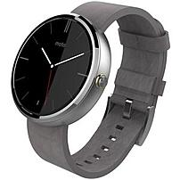 Motorola Moto 360 Smart Watch Wrist Ambient Light Sensor Optical Heart Rate Sensor Pedometer Email Text Messaging Heart Rate ARM Cortex A8 OMAP3630 4 GB 512 MB Standard Memory 1.6 quot; 320 x 290 Touc
