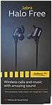 Jabra Halo Free Wireless Headphones Stereo Black Wireless Bluetooth 32.8 ft 16 Ohm 20 Hz 20 kHz Earbud Binaural In ear 100 97900000 02