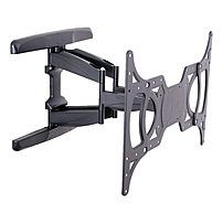 V7 WCL2DA99-2N Mounting Arm for Flat Panel Monitor - 32' to 65' Screen Support - 99 lb Load Capacity - Black