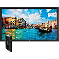 NEC Monitor 65' Digital Signage Solution w/ V652 & Single Board Computer - 65' LCD - 1920 x 1080 - Edge LED - 450 Nit - 1080p - HDMI - DVI - SerialEthernet - Black