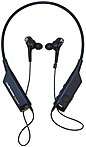 Audio-Technica ATH-ANC40BT Wireless Noise-Cancelling Headphones - Stereo - Wireless - Bluetooth - 32.8 ft - 16 Ohm - 20 Hz - 24 kHz - Earbud, Behind-the-neck - Binaural - In-ear