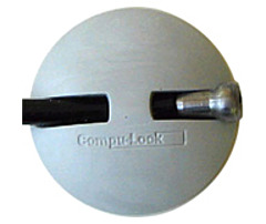 Compu-Lock NOTESAVER-1 NoteSaver Cable Lock - Steel - 5 ft