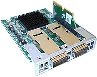 Intel QME73628220CK True Scale Fabric Host Channel Adapter (HCA) Mezzanine Card - SFP