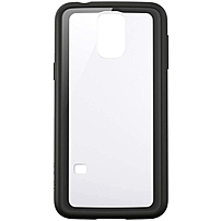 Belkin AIR PROTECT Grip Vue Protective Case for GALAXY S5 - Smartphone - Clear/Black - Tint - Polycarbonate