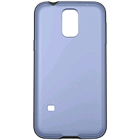 Belkin Air Protect Grip Candy Protective Case for Galaxy S5 - Smartphone - Pale Blue, Blacktop - Tint - Plastic