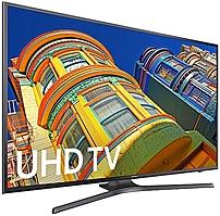 Samsung 6-Series UN50KU6300 50-inch 4K Smart UHD LED TV - 3840 x 2160 - 120 MR - Black