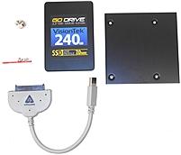VisionTek 900624-KIT 240 GB Solid State Drive Kit - 2.5-inch - SATA - 6 Gbps