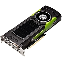 PNY Quadro M6000 Graphic Card - 24 GB GDDR5 - PCI Express 3.0 x16 - Dual Slot Space Required - 384 bit Bus Width - Fan Cooler - OpenGL 4.5, DirectX 12, OpenCL, DirectCompute - 4 x DisplayPort - 1 x To