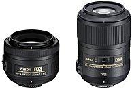 Nikon 35mm f/1.8G Portrait and 85mm f/3.5G Macro Two Lens Kit Black 13490